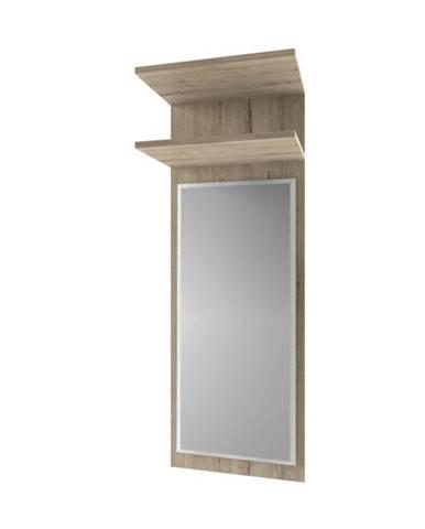 Orestes 45 panel so zrkadlom dub san remo