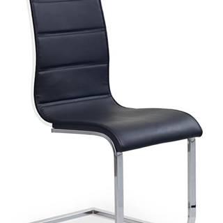 K104 jedálenská stolička čierna