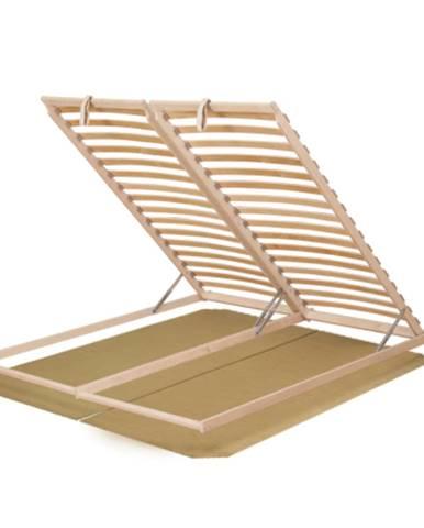 Basic Flex 3-zónový lamelový rošt 180x200 cm brezové drevo