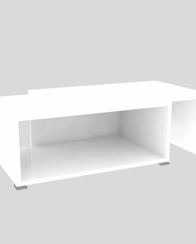 Dron konferenčný stolík biela