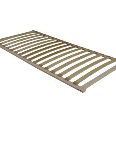 Flex 3-zónový lamelový rošt 180x200 cm brezové drevo