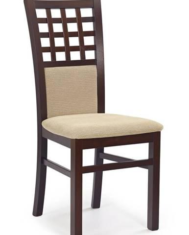 Gerard 3 jedálenská stolička tmavý orech