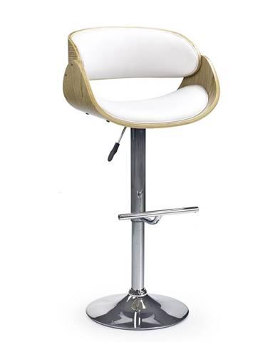 H-43 barová stolička dub svetlý