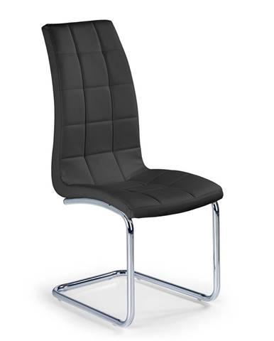 K147 jedálenská stolička čierna