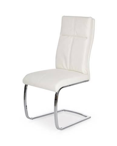 K231 jedálenská stolička biela