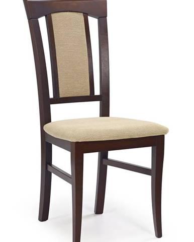 Konrad jedálenská stolička tmavý orech