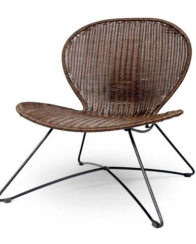 Troy záhradná stolička hnedá
