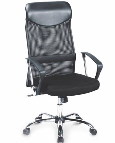 Vire kancelárska stolička s podrúčkami čierna