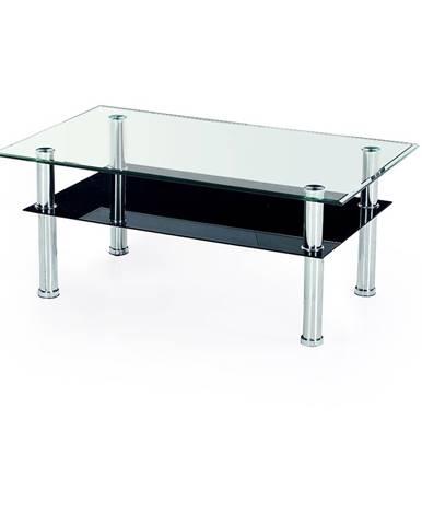 Yolanda 103 sklenený konferenčný stolík priehľadná