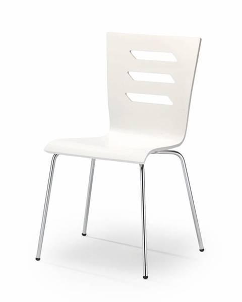 Halmar K155 jedálenská stolička biela