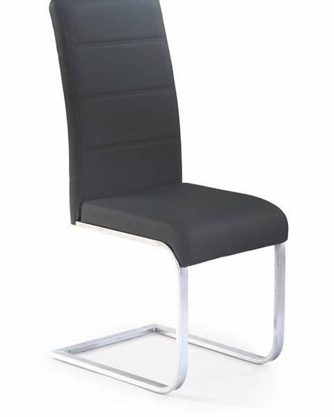Halmar K85 jedálenská stolička čierna