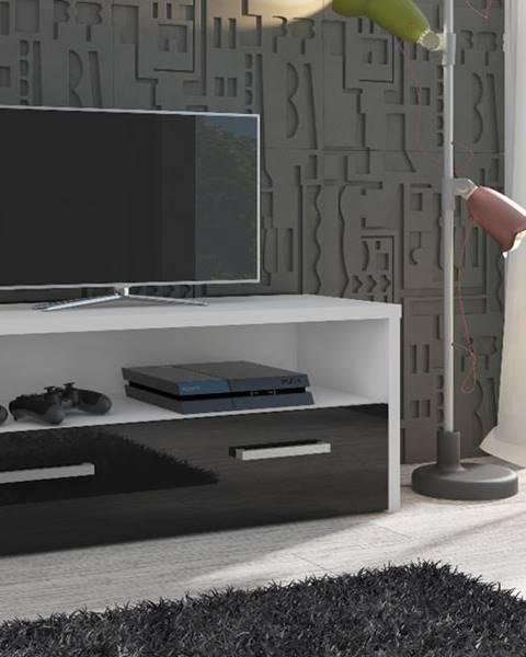 MEBLOCROSS Tirana tv stolík biela