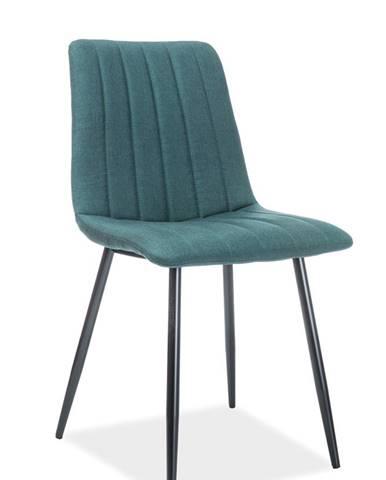 Alan jedálenská stolička zelená