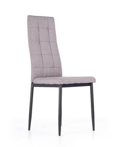 K292 jedálenská stolička sivá