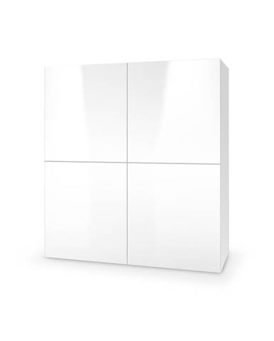 Livo KM-100 komoda biela
