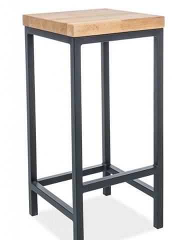 Metro barová stolička dub