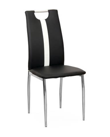Signa jedálenská stolička čierna