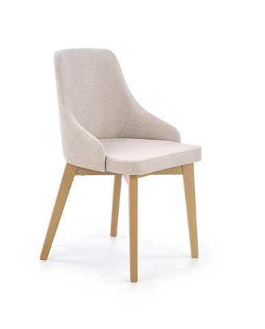 Toledo jedálenská stolička dub medový