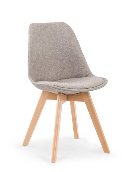 Halmar K303 jedálenská stolička svetlosivá