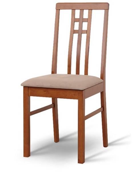 Tempo Kondela Silas jedálenská stolička tmavý dub