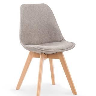 K303 jedálenská stolička svetlosivá