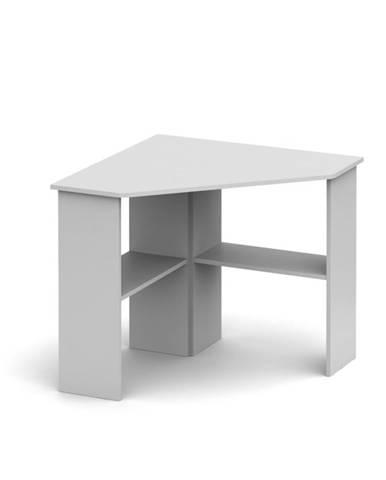 Rony New rohový pc stolík biela