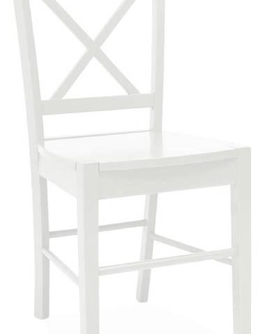 CD-56 jedálenská stolička biela