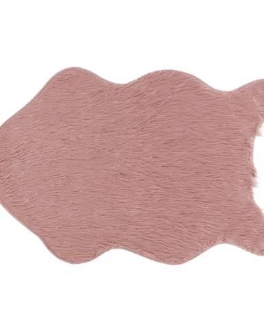 Fox Typ 3 umelá kožušina ružová