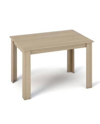 Kraz jedálenský stôl 120x80 cm dub sonoma