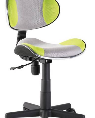 Q-G2 kancelárska stolička zelená