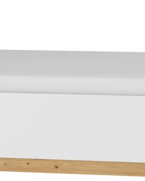 MEBLOCROSS Maximus MXS-18 160 manželská posteľ s roštom dub artisan