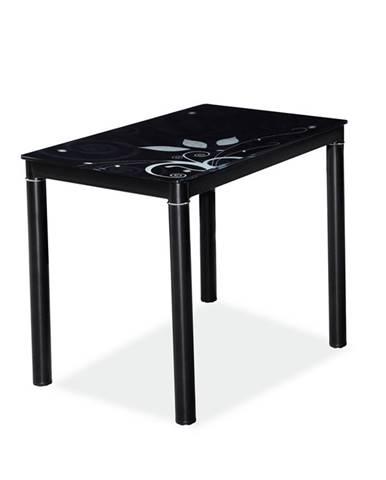 Damar jedálenský stôl čierna