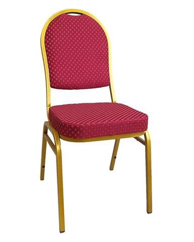 Jeff 3 New konferenčná stolička červená