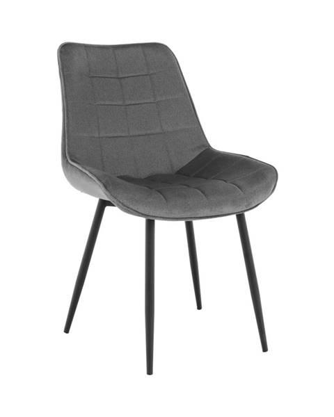 Tempo Kondela Sarin jedálenská stolička sivá