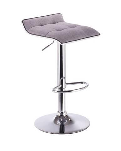 Fuego barová stolička sivá