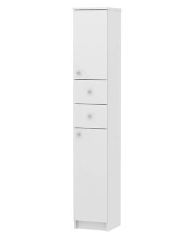Galena SI13 kúpeľňová skrinka biela