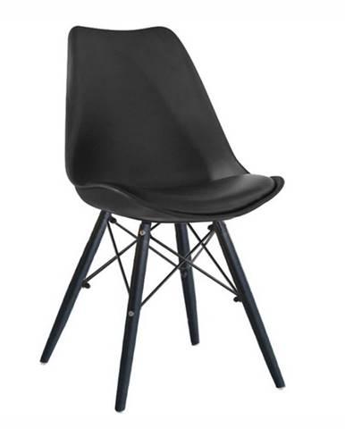 Kemal New jedálenská stolička čierna