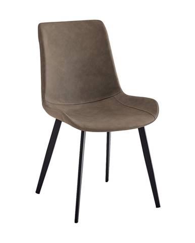 Niro jedálenská stolička hnedá