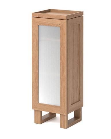 Kúpeľňová skrinka z dubového dreva Wireworks Mezza