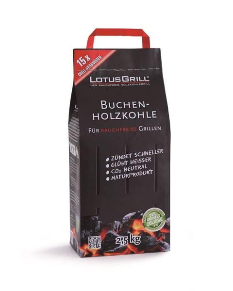 LotusGrill Drevené uhlie LotusGrill,2,5kg
