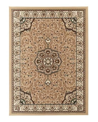 Béžovo-hnedý koberec Think Rugs Diamond, 120x170cm