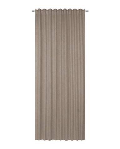 Hotový Záves Ulrich, 135/245cm, Sivohnedá