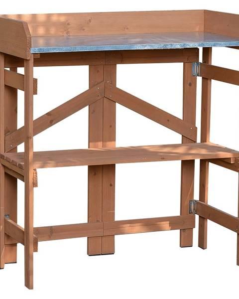 Tempo Kondela Záhradný pracovný stôl jelša ELSIRO