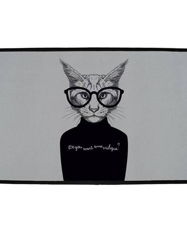 Butter Kings Vnútorná multifunkčná rohožka Cat, 75 x 45 cm