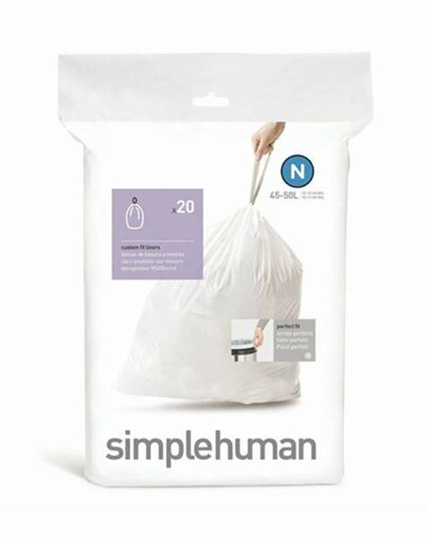Simplehuman Simplehuman Vrecia do odpadkového koša N 45-50 l, ,