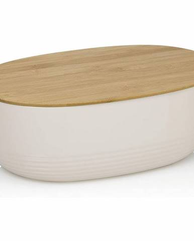 Kela Chlebník NAMUR plast/drevo, béžová