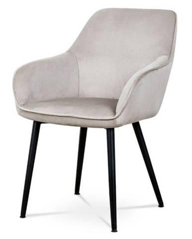 Jedálenská stolička LORETA hľuzovková/čierna