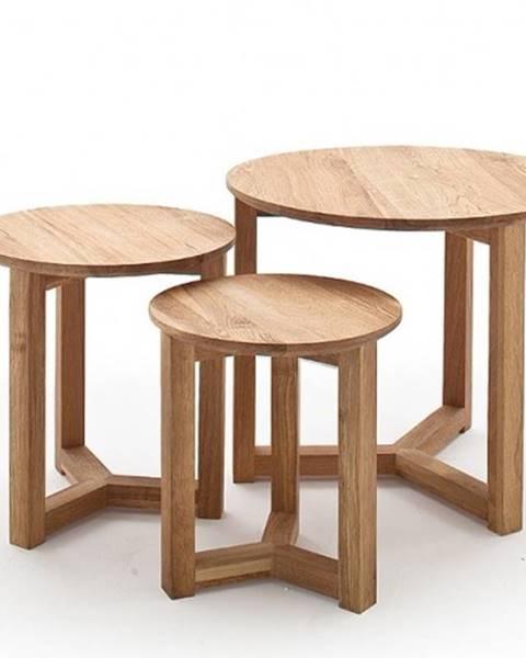 OKAY nábytok Konferenčný stolík Maude - set 3 kusov