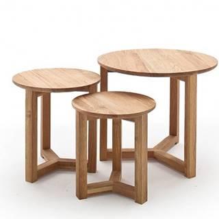 Konferenčný stolík Maude - set 3 kusov