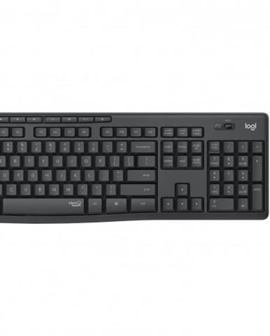 Set Logitech MK295, bezdrôtový, tichý, CZE, čierna